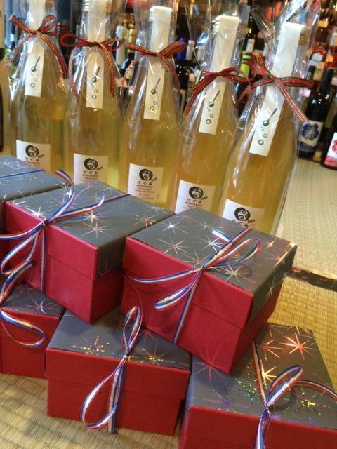 2015 12 19 焼き菓子とワインのセット -1