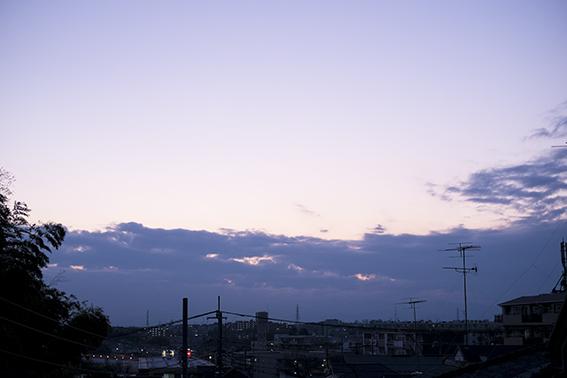 2015年最後の夕景