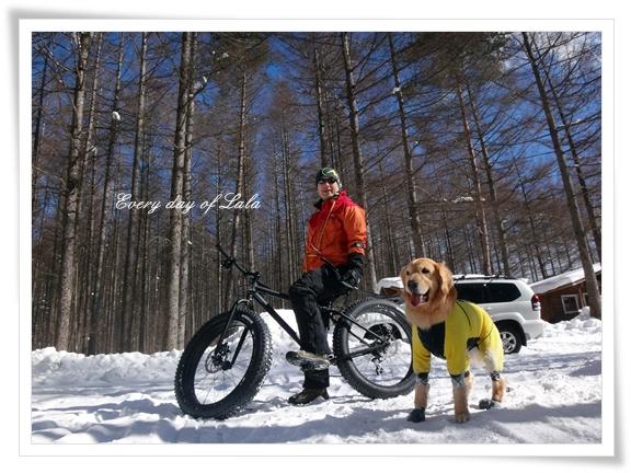 DSC03512スノー自転車と