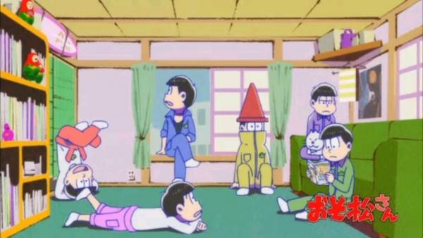 おそ松さん 6話「おたんじょうび会ダジョー」