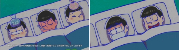 おそ松さん 14話「風邪ひいた」