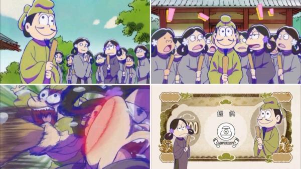 おそ松さん 19話「時代劇おそ松さん・十四松太子」