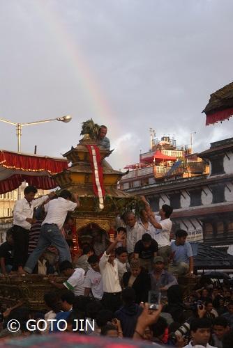 ネパール写生旅行