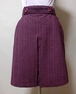 エクセーヌでミニボックススカート