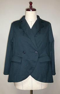 ダブルブレストのジャケット