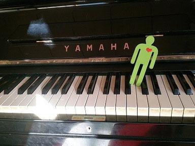 ピアノとみどりん