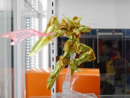 ROBOT魂 〈SIDE MS〉 マスターガンダム 明鏡止水Ver.の彩色サンプルの展示写真