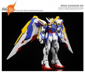 RG XXXG-01W ウイングガンダム EWのレビュー5