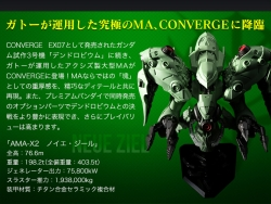 FW GUNDAM CONVERGE EX12 ノイエ・ジール + 0083最終決戦オプションセット 商品詳細03