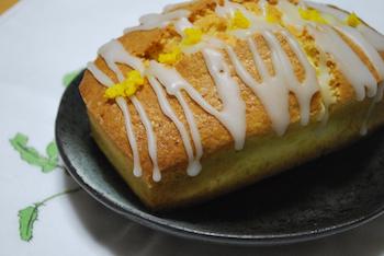 ゆずすりおろしパウンドケーキ