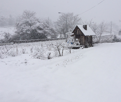 小屋 280207雪