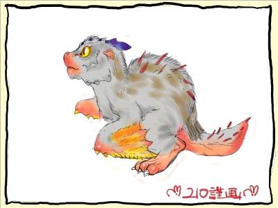 トリドクルス幼生2