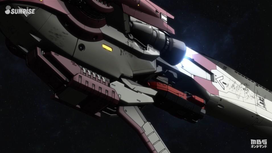 「機動戦士ガンダム 鉄血のオルフェンズ」第18話『声』 スクリーンショット