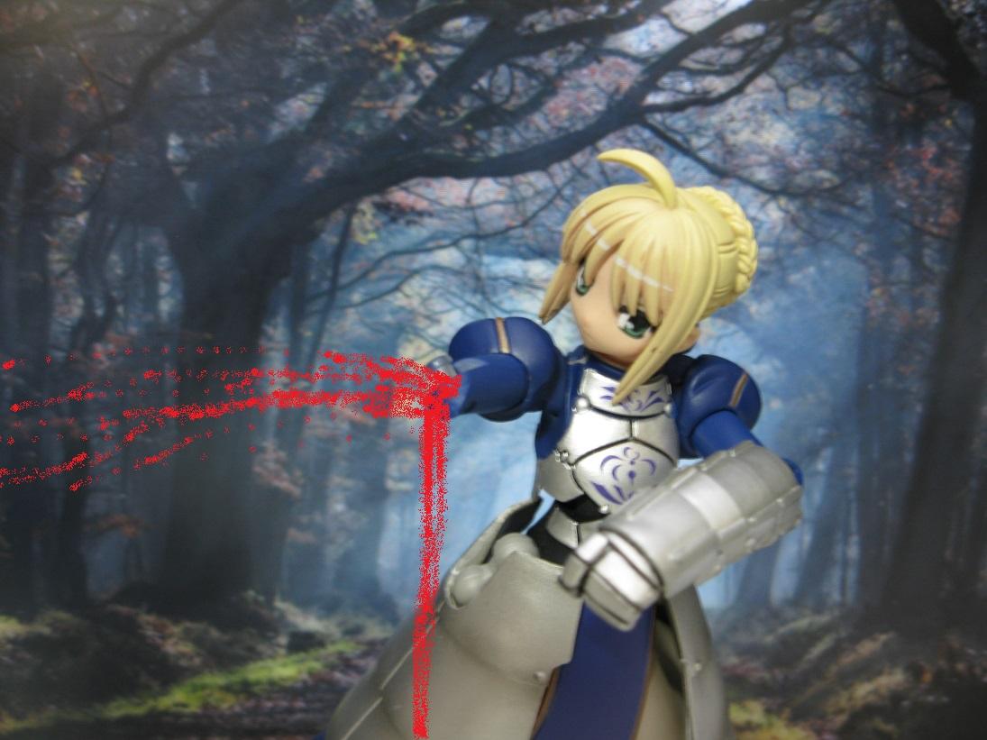 リボルテック第二世代 第一弾 セイバー右腕の不具合とその修理。 from Fate/stay night