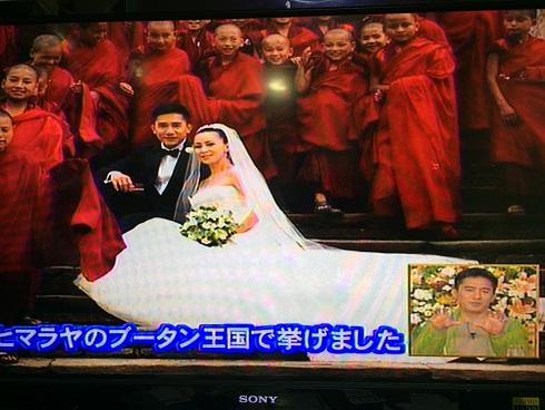 トニーさん&カリーナ@結婚式