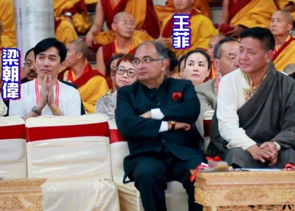 トニーさん、フェイ・ウォン@インド法会