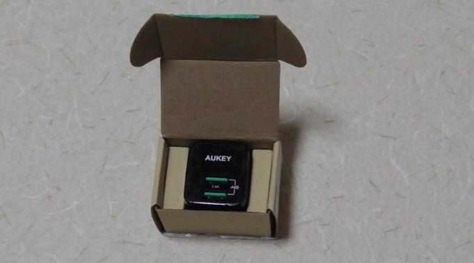 Aukey 充電器PA-U3255-808