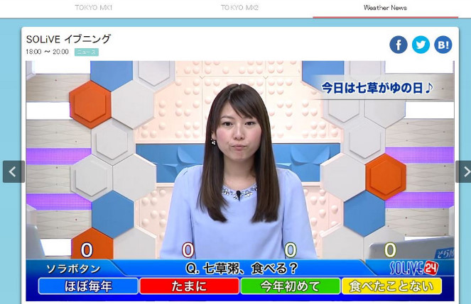 TOKYOMXエムキャスの紹介1 23-47-36-604