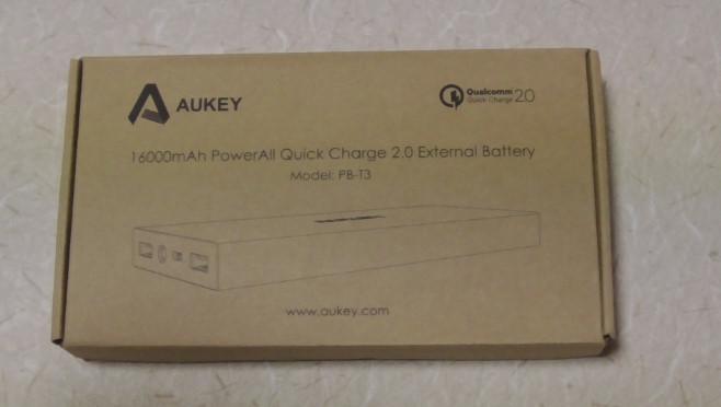 AukeyモバイルバッテリーPB-T35-40-48-469