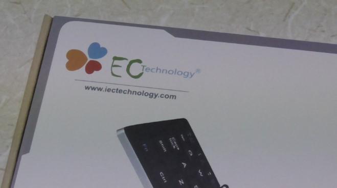EC Technologyの小型Bluetoothキーボード6 02-25-34-525