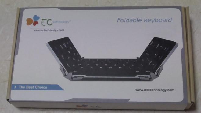 EC Technologyの小型Bluetoothキーボード2-25-32-547