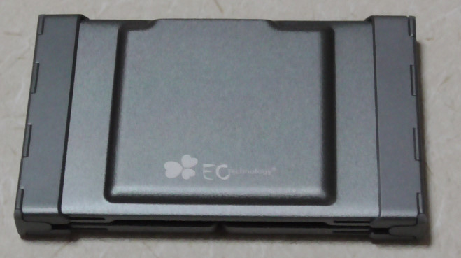 EC Technologyの小型Bluetoothキーボード02-26-04-589
