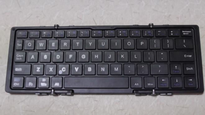 EC Technologyの小型Bluetoothキーボード9-397
