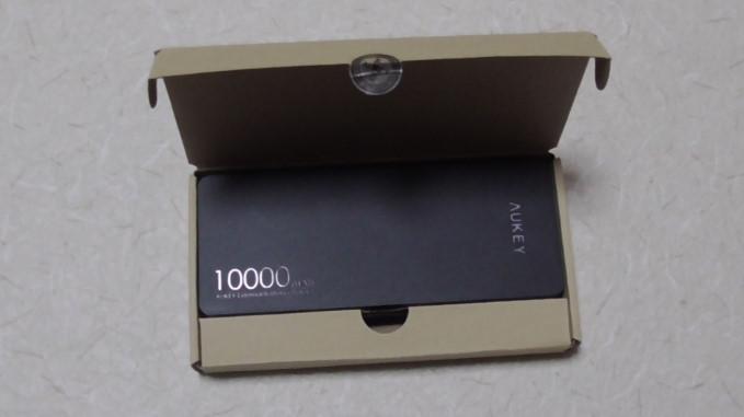Aukeyモバイルバッテリー10000mAhPB-T48 22-34-01-407