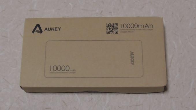 Aukeyモバイルバッテリー10000mAhPB-T4-33-59-441