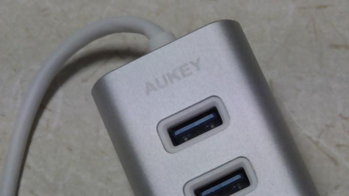 AUKEYの4ポートまで拡張できるUSBハブCB-H31をレビュー24 03-11-14-394