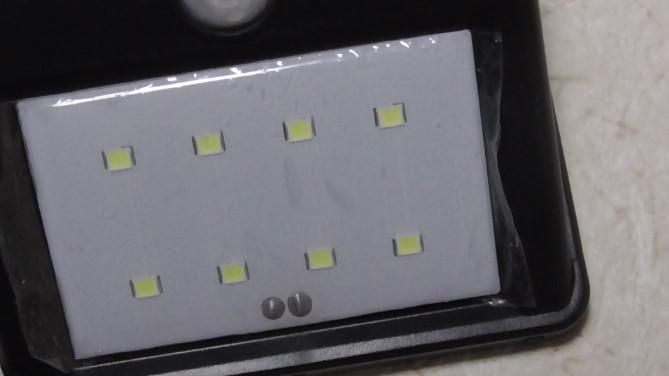 Aukeyの人感センサー8LEDライトのレビュー4-39-19-418