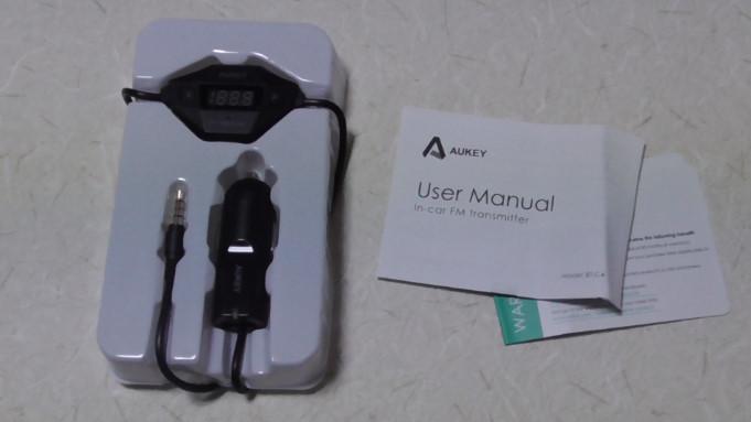 Aukeyのカー用品FMトランスミッターと車載充電器をレビュー1 03-04-21-399