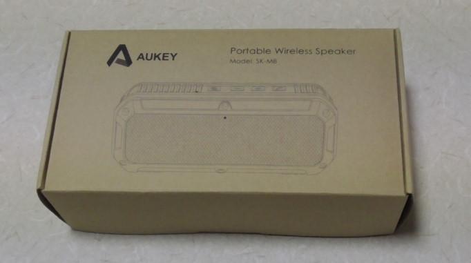 AukeyのBluetoothステレオスピーカーをレビュー 防水にも対応!SK-M8-GR18-16-206