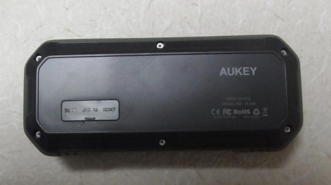AukeyのBluetoothステレオスピーカーをレビュー 防水にも対応!SK-M8-GR4-19-01-829