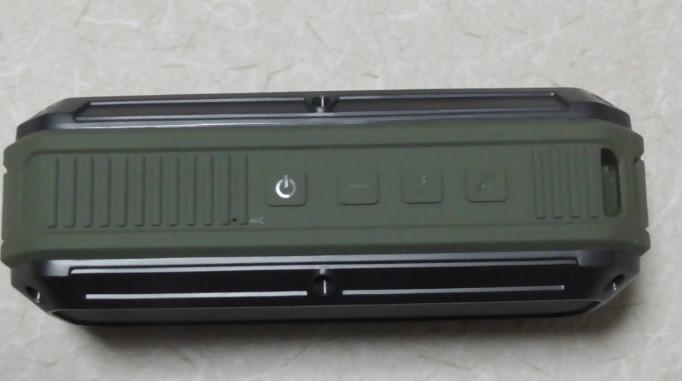 AukeyのBluetoothステレオスピーカーをレビュー 防水にも対応!SK-M8-GR18-59-508