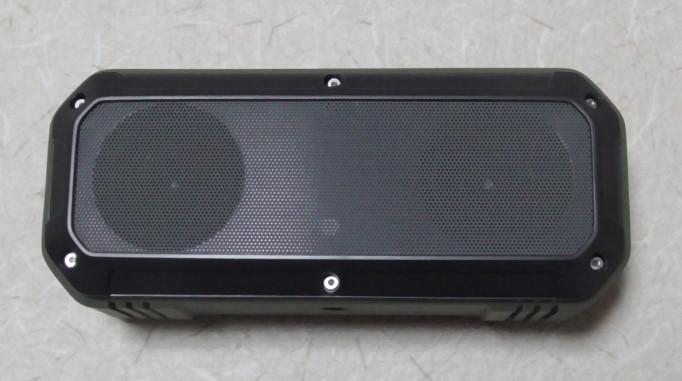 AukeyのBluetoothステレオスピーカーをレビュー 防水にも対応!SK-M8-GR 04-18-56-636