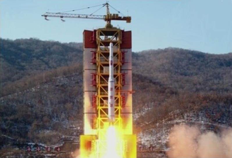 北朝鮮ミサイル発射