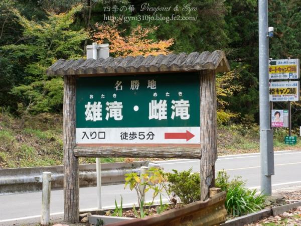 道志村 雄滝・雌滝 A