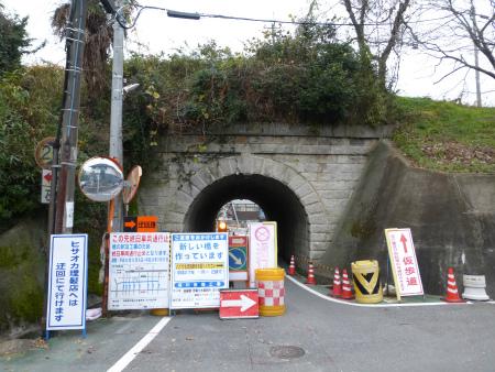 由良谷川隧道01