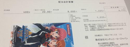 8898 センチュリー21・ジャパン 配当金