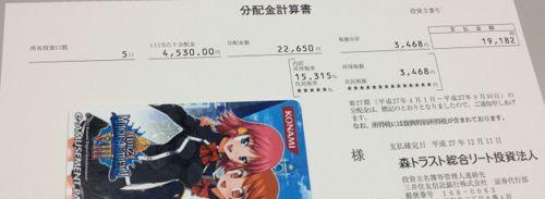 [8961]森トラスト総合リート投資法人 分配金