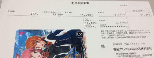 8096 兼松エレクトロニクス 配当金