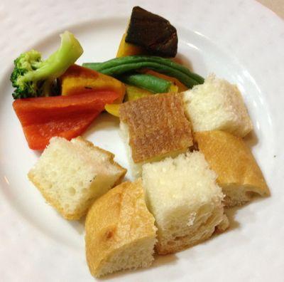 バゲットと温野菜のセット
