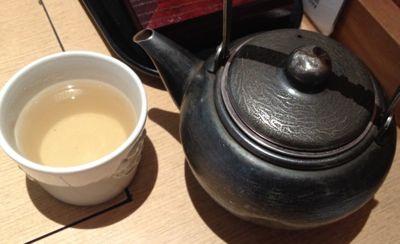 九菜のいろどりランチ そば茶