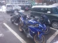 GSX1300R ツーリング 山梨県
