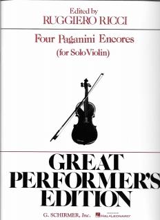 Four Paganini EncoreBlog