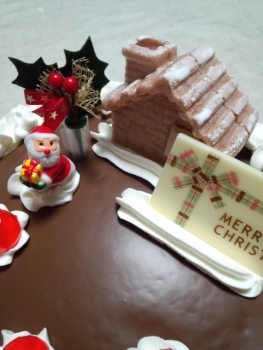 20151224クリスマスケーキ2