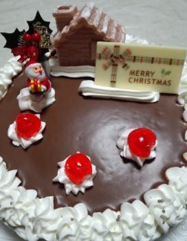 20151224クリスマスケーキ