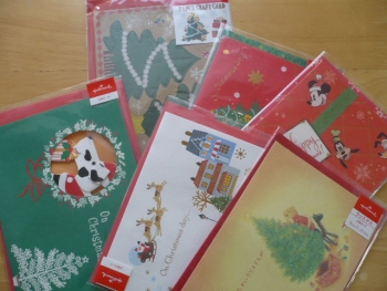 激安クリスマスカードを購入