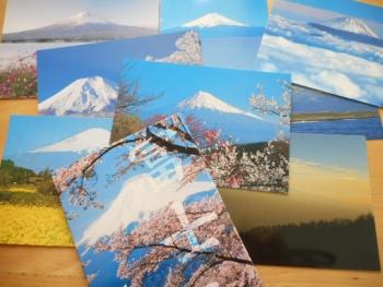 富士山等のポストカードを購入3